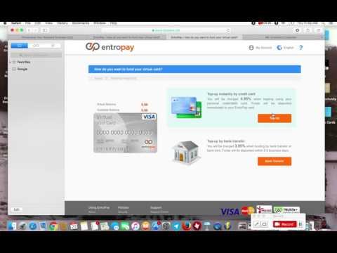 entropay - how to get your virtual Visa card
