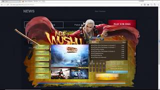 How to download Age Of Wushu (New Installer)