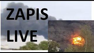 Pożar sosnowiec (16.09.2020) ZAPIS LIVE
