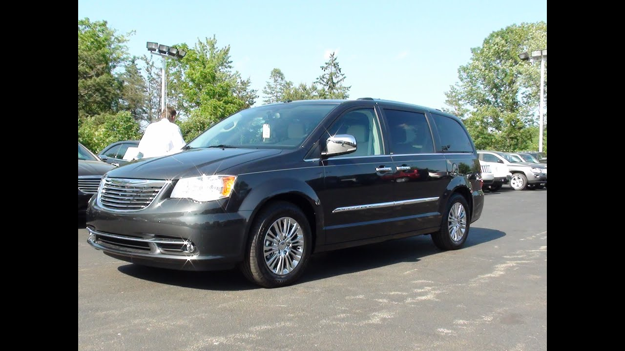 Mvs 2011 chrysler town u0026 country limited youtube