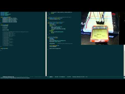 Programming an Arduino Text Adventure #5 - Creating the game