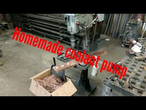 Cheap Drill Press coolant pump
