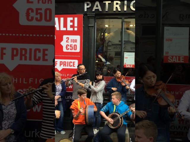 Toyota Ceili Band @ Fleadh Cheoil 2016 Street Performance 2