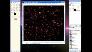 Gimp Tutorial: Fireworks and Sparks