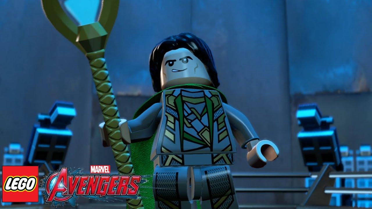Great Lego Marvelu0027s Avengers (PS4)   Part 2   A Loki Entrance
