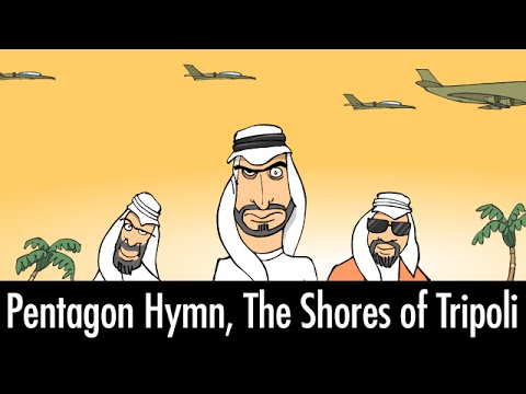 Pentagon Hymn, The Shores of Tripoli