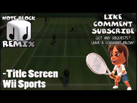 """Title Theme"" Wii Sports Remix"