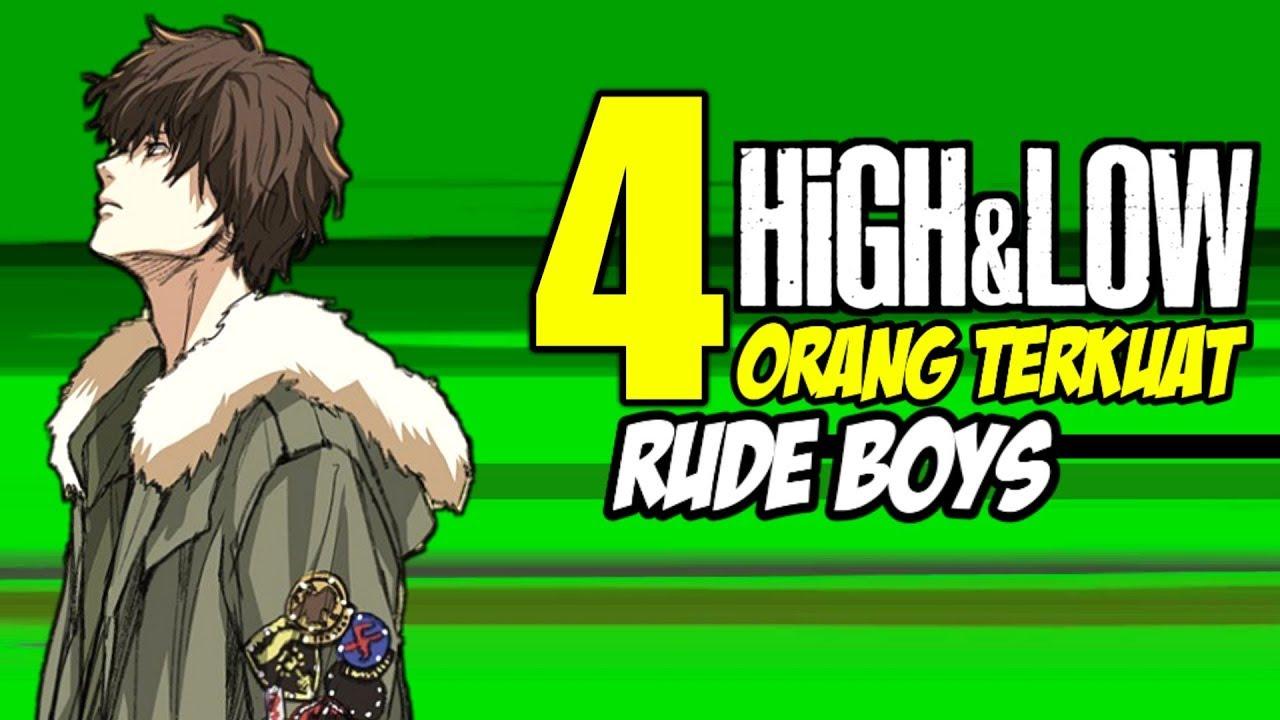 High Low 4 Orang Terkuat Di Daruma Ikka Youtube