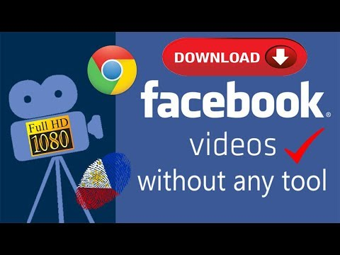 Tricks How To Download Facebook Videos On PC 2018 (HD)