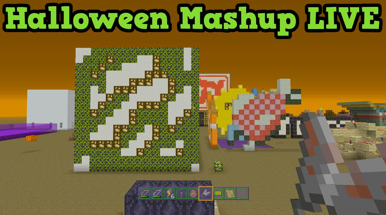 minecraft xbox 360 ps3 halloween mash up pack music disc quest youtube - Halloween Xbox 360