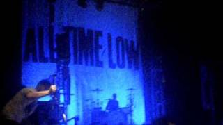 Kerrang Relentless Southampton 2010 All Time Low - Dear Maria Count Me In
