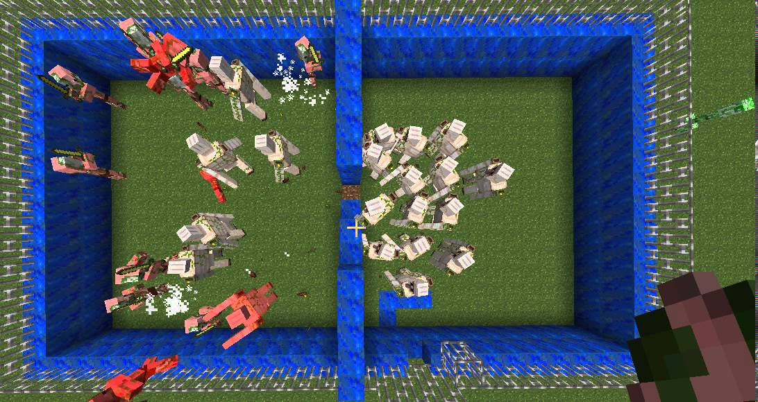 Gol me vs cochon zombie sur minecraft comment faire les gol me youtube - Minecraft cochon ...