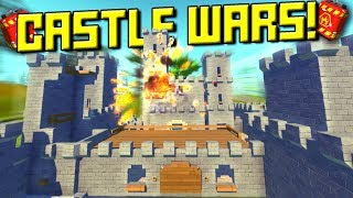 Medieval Castle Bomb Throwing Wars! - Scrap Mechanic Multiplayer Monday! Ep 113
