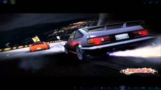 [PC] Need For Speed Carbon Drift AE86 + musique Initial D