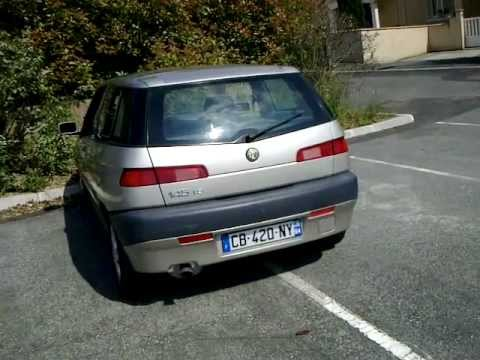 alfa romeo 145 1 6 boxer stock exhaust sound youtube. Black Bedroom Furniture Sets. Home Design Ideas