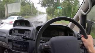 1994 Mitsubishi Delica L400 Turbo Diesel Test Drive