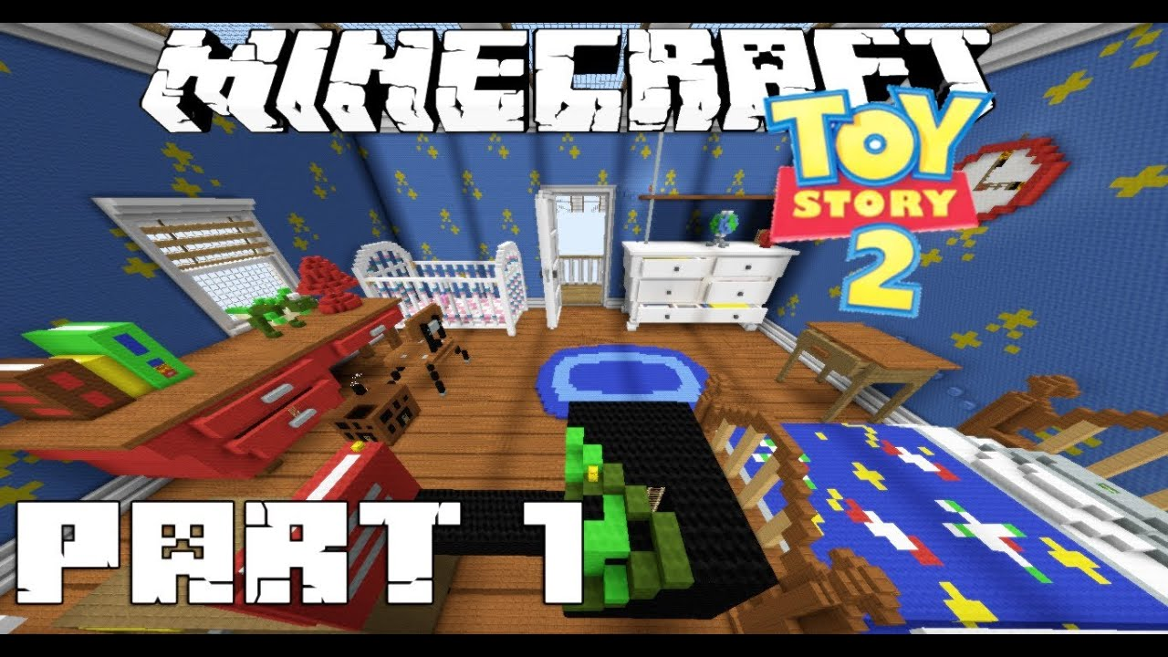 Minecraft Adventure Map Toy Story 2