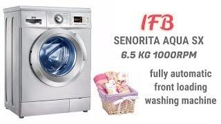 How to use IFB Senorita Aqua SX 6.5 kg 1000 RPM full demo |