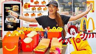 I OPENED My Own *McDONALD's* At HOME 🏠 For 24 HOURS Challenge | SAMREEN ALI