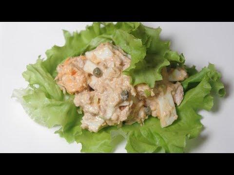 How To Make Egg & Tuna Salad Lettuce Wraps Recipe