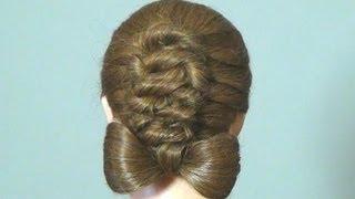 Прическа: Бант из волос. Hair Bow Tutorial Hairstyle for medium hair(Подписывайтесь на канал на ютубе http://www.youtube.com/user/womenbeauty1 Группа ВКОНТАКТЕ http://vk.com/club37040135 Twitter https://twitter.com/#!, 2012-08-11T16:17:47.000Z)