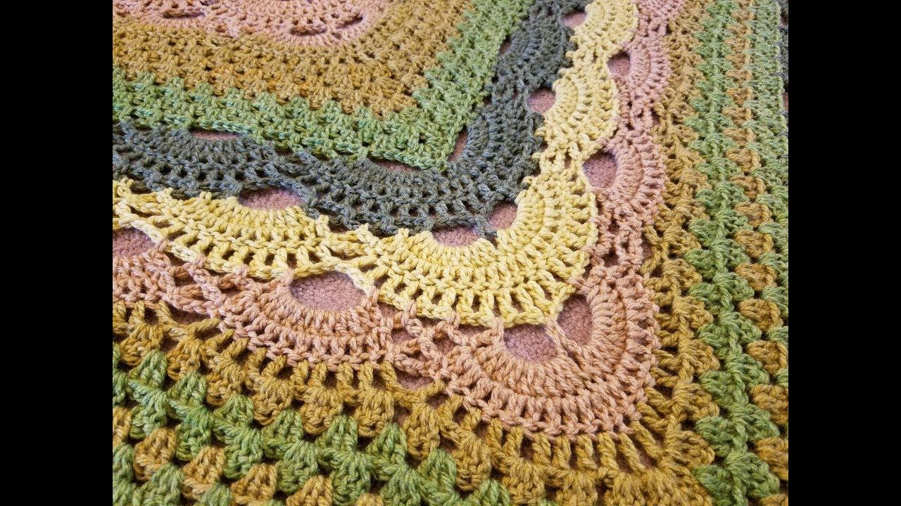 Virus Meet Granny Shawl Free Crochet Pattern | Your Crochet