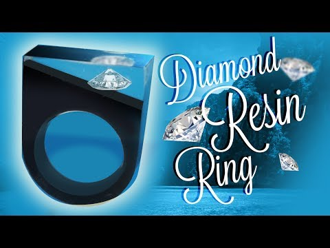 Diamond Resin Ring - DIY