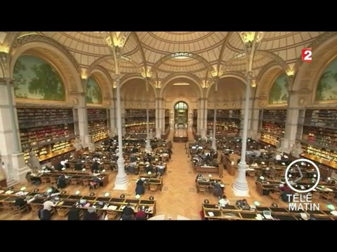 Tendances - Architecture : la bibliothèque Richelieu restaurée