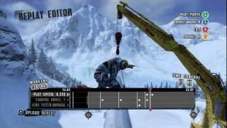 Shaun White Snowboarding - Replay Editor