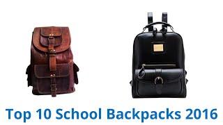 10 Best School Backpacks 2016