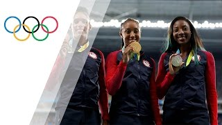 USA sprinters sweep the podium in Women