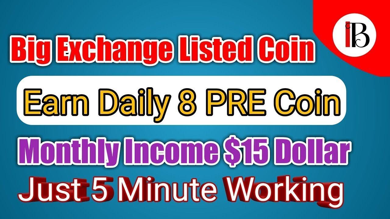 Download Preserch- PRE coin nhận 0.005$ cho mỗi lượt tìm kiếm, kiếm 100$/ tháng