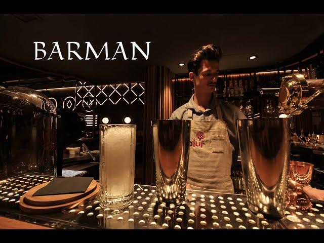 BARMAN demostrando sus habilidades