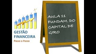 Aula 11 - Fundamentos do Capital de Giro