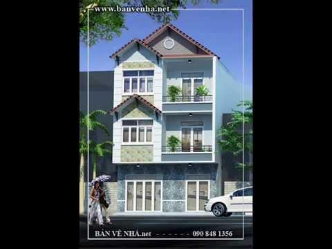 Bản vẽ nhà phố
