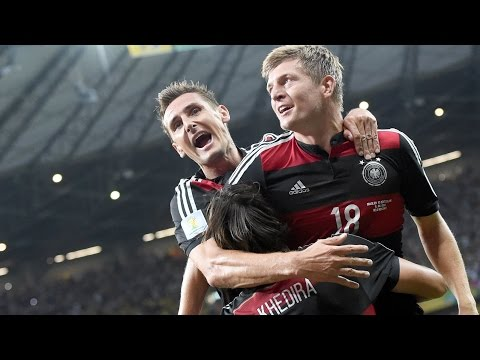WM 2014 Halbfinale - Deutschland - Brasilien 7:1 (HD)