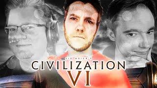 Civ 6 Online-Duell | Nils, Maurice (GameStar), Mikels91 (ran) & PietSmiet im Zivilisations-Disput