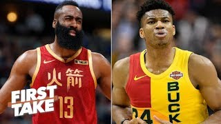 James Harden is impressive but Giannis is the MVP front-runner – Max Kellerman | First Take