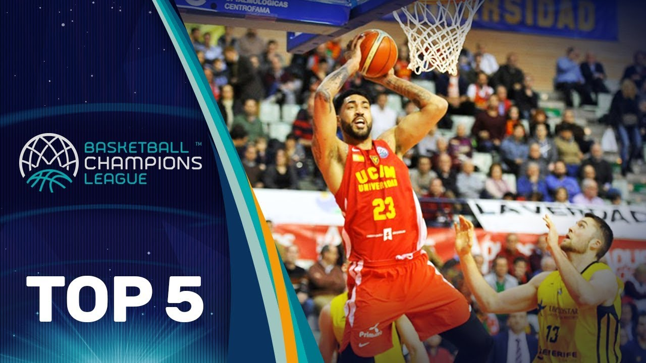 Top 5 Plays: UCAM Murcia - Basketball Champions League 2017