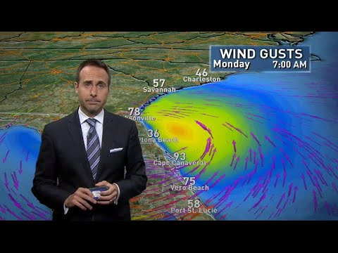 Hurricane Irma heads toward Florida