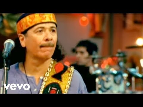 Santana  Corazon Espinado Video ft. Mana