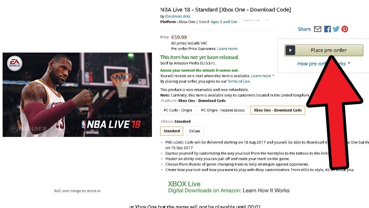 nba live 18 pc download full version