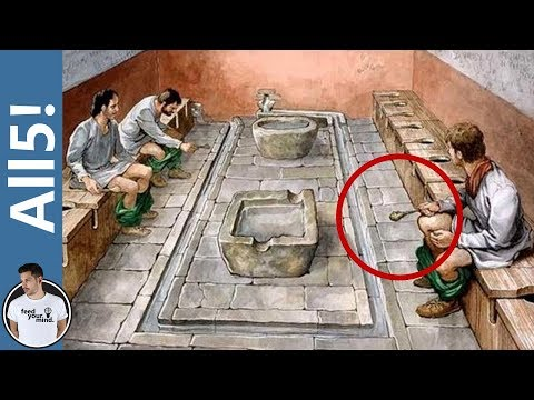 5 DISGUSTING Facts About Ancient Roman Life!