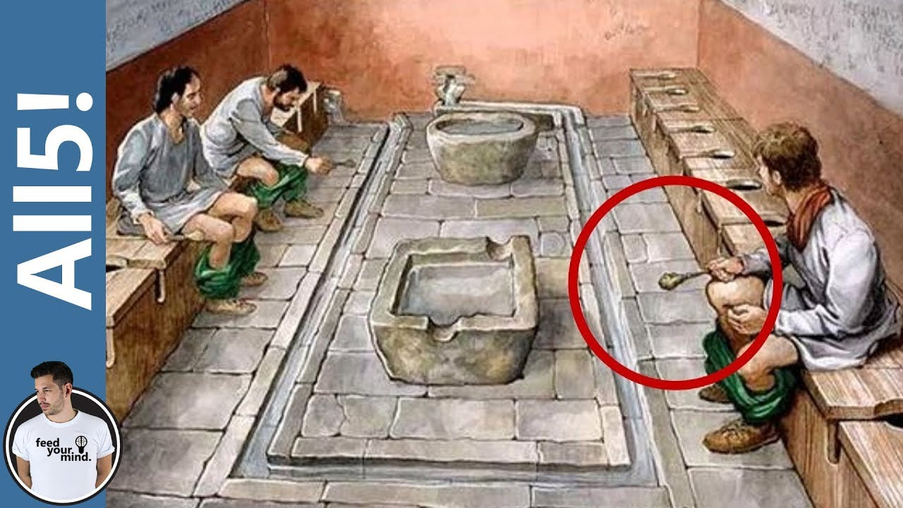 5 Disgusting Facts About Ancient Roman Life Youtube