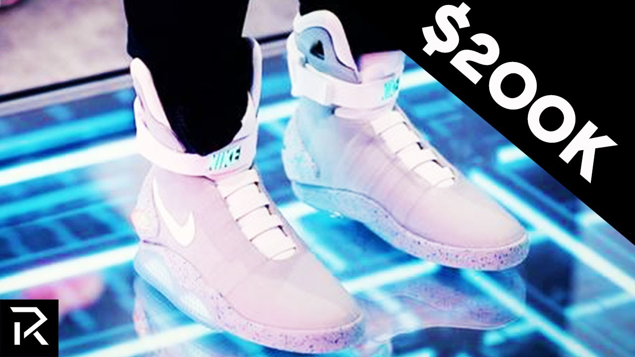 Super Rare Futuristic Nike Self-Lacing Shoes Cost $200k