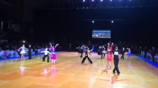 Tallinn Open 2015 - WDSF Junior I Open LA - Rumba - 1/4F