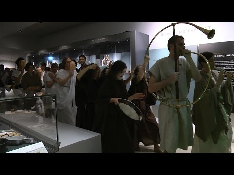 Rome's Walking Dead - a Roman funeral at the Ashmolean Museum