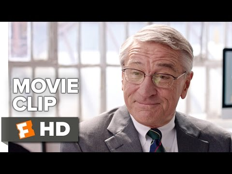 The Intern Movie CLIP - Do You Remember? (2015) -  Robert De Niro, Anne Hathaway Movie HD