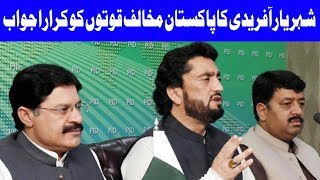 Shehryar Afridi's Angry Message To Anti Pakistan Forces    15 December 2018   Dunya News