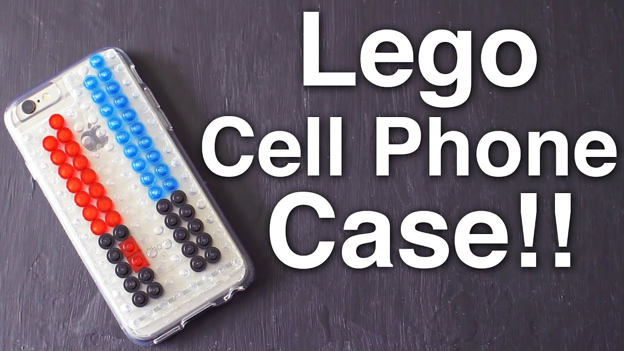Diy lego cell phone case youtube for How to make a homemade phone case